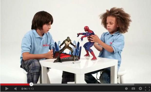 Hasbro Spider Man Strzelający Siecią Pajęczyną Hit