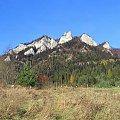 Trzy Korony ze Sromowiec Niżnych #góry #pieniny #TrzyKorony #WąwózSzopczański