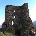 Ruiny zamku Zborov #góry #beskidy #BeskidNiski #PogórzeOndawskie #MaguraStebnicka #ZamekZborov