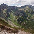 Tatry- widoki z Wołowca #góry #Lipiec2013 #Tatry #TatryZachodnie