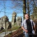 #Detmold #Externsteine #LasTeutoburski #Niemcy #Piaskowiec #Skały #TeutoburgerWald