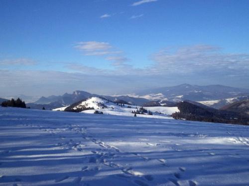 Pieniny i Lubań spod Durbaszki #góry #pieniny #homole #wysoka #durbaszka