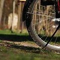 Rowerowo ... #koło #kwiaty #łąka #opona #rower