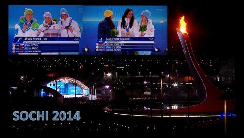 zapiszę sobie te dwa złote medale w Soczi :)