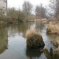 Eletrownia wodna na rzece Wieprz w Michalowie, widok na rzekę Wieprz #Michalów #ElektrowniaWodna #Wieprz