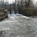 Eletrownia wodna na rzece Wieprz w Michalowie, widok jazu #Michalów #ElektrowniaWodna #Wieprz