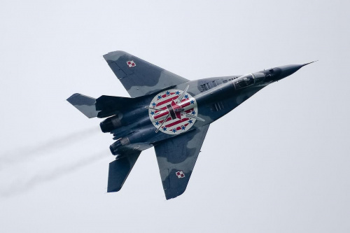 Mikoyan Gurevich MiG-29 A Fulcrum Poland - Air Force