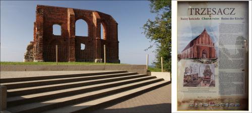 Trzęsacz (http://fotopolska.eu/94537,foto.html) #Bałtyk #morze #Trzęsacz
