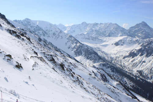 Na Kasprowym - widok z góry na Góry :) #góry #Tatry #Zakopane