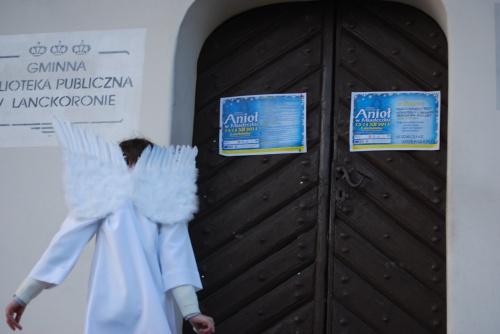 Anioł w Miasteczku Lanckorona 13-14 grudnia 2014 - polecam w kolejnym roku!:) magiczne miejscee i czas :)