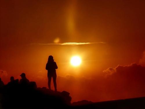 czekając na wschód słońca Połonina Wetlińska #WschodSłońca