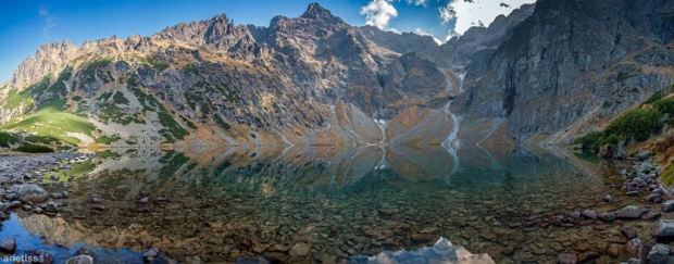 Czarny Staw... #arietiss #góry #krajobraz #panorama #Tatry