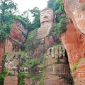 Posąg Buddy (71 m) - Leshan - wymaga wyskubywania zieleniny #Chiny