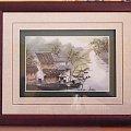 Ten obrazek wyszywany jedwabiem - zakupiony do mnie na ścianę :) #Chiny