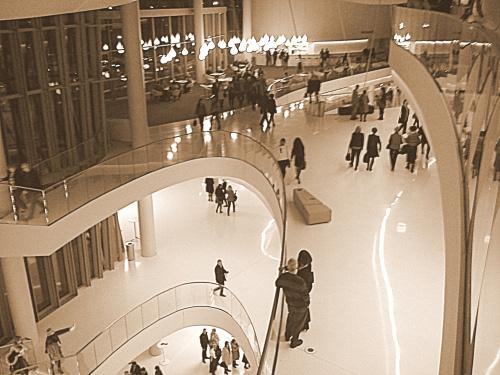 Centrum Kongresowe ICE od środka - architektura imponująca, polecam! :) akustyka też doskonała