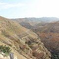Pustynia otaczająca Ławrę Hozewitów #bóg #cerkiew #chrystus #izrael #jerozolima #jerycho #kościół #nazaret #ZiemiaŚwięta