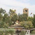 Miejsce chrztu Jezusa - nad rzeką Jordan #bóg #cerkiew #chrystus #izrael #jerozolima #jerycho #kościół #nazaret #ZiemiaŚwięta