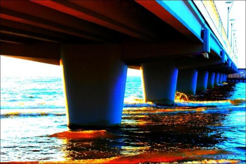 Kołobrzeskie molo ... pomalowałam :) #KołobrzegMolo