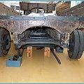 W Arbon-szwajcarskie muzeum starych samochodów i włókiennictwa-drewniany samochód- z tyłu #samochody