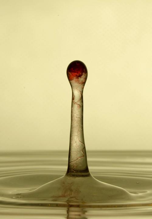 słupek #kropla #woda